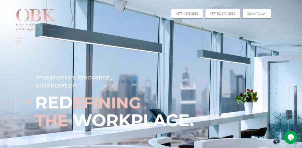 OBK Business Centre's Homepage