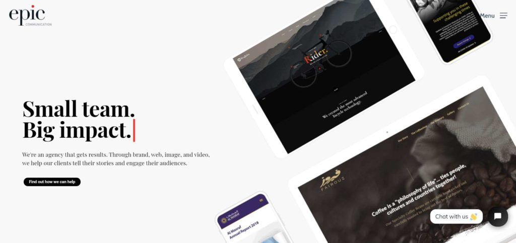 Epic Communication's Homepage